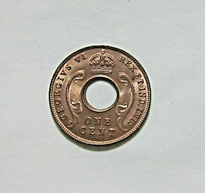 British East Africa. 5 Cents, 1942. King George Vi. High Grade.