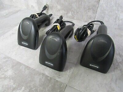 Lot of 3 Honeywell Adaptus 3800G Hand Held Barcode Scanners w/ USB Cable