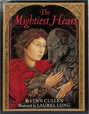 IRISH WOLFHOUND Dog Story Book THE MIGHTIEST HEART Welsh Legend