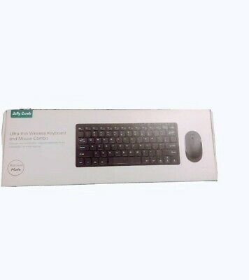 Jelly Comb Ultra-Thin 2.4G Wireless Keyboard And Mouse Combo White