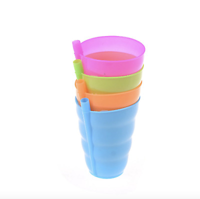 Kids Children Infant Baby Sip Cup with Built in Straw Mug Drink Feeding Toy New