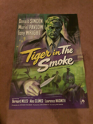 Tiger in the Smoke   One Sheet    Cinema Poster   27 X 40