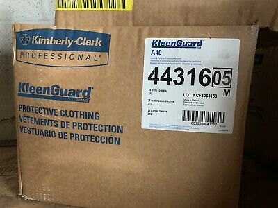 Kleenguard 44316, A40 Liquid & Particle Protection Apparel 3Xl, (Case Of 25)
