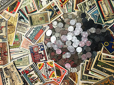Clearance SALE Antique Very Rare Germany Coin Collection Lot & Bill
