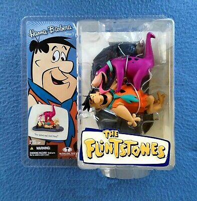 Fred Flintstone With Dino Hanna Barbera Mcfarlane Action Figure