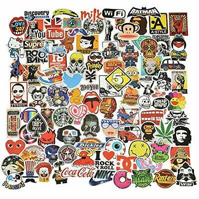 Willingood Aufkleber 100 Stück Wasserdicht Vinyl Stickers Graffiti Style Decals