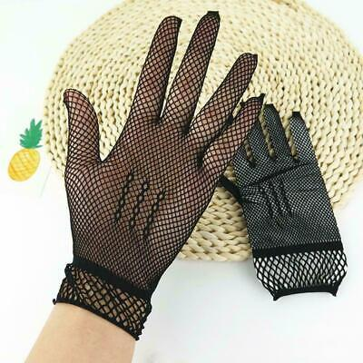 Women's Wrist Wedding Gloves Bridal Party Prom Fishnet Gloves Best