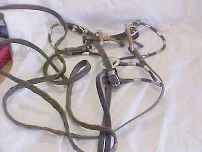 Vintage Horse  Bit & Reins  As Pictured