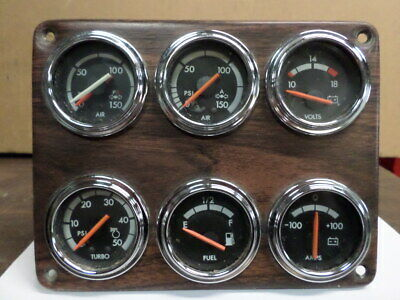 2000 Freightliner Fld 120 Gauge Cluster 6-Pack Good Used Free Shipping