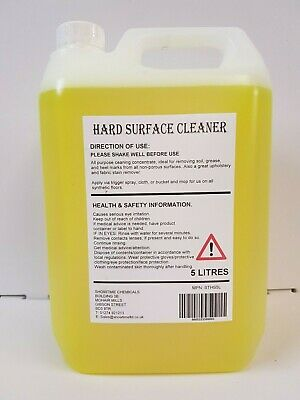 G101 Heavy Duty Hard Surface Cleaner General Purpose Cleaner 5L ( VERY STRONG )