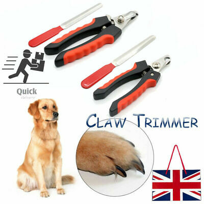 Nail Clippers Pet Dog Cat Rabbit Sheep Animal Claw Trimmer Grooming Large/Small