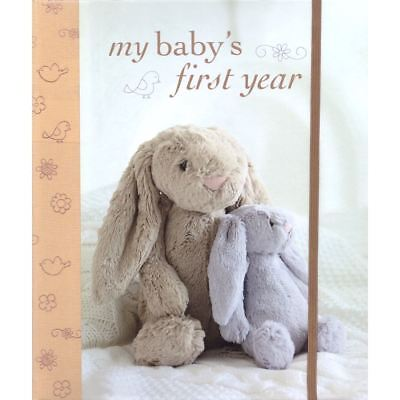 Ryland Peters & Small MY BABY'S FIRST YEAR Baby/Toddler Record Book BN
