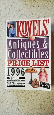 Kovels'   ANTIQUES & COLLECTIBLES PRICE LIST 1996, Paperback) 0517884623