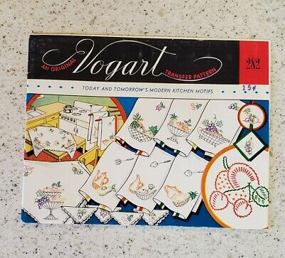 Lot - Embroidery Transfer Patterns 5 Packages Vintage 1940'S
