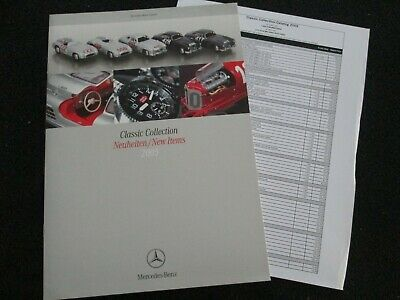 2005 Mercedes Gift Accessory Brochure Mille Miglia Race Rally SLR Models Catalog