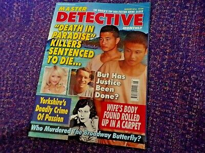 Master Detective Monthly Magazine August 2016