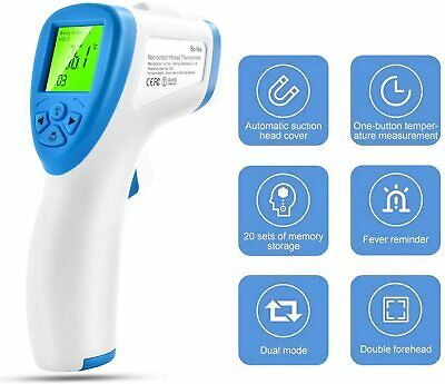 Digital Infrared Non-Contact Forehead Thermometer Gun Temperature Measurement