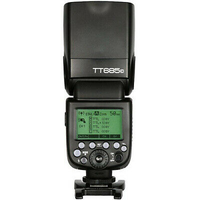 Godox – Flash Speedlite TT685C Canon 600EX-RT/580EX II TTL