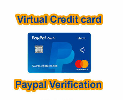 Vcc Card For Paypal Verification
