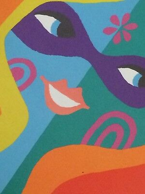 Pop Art Poster Munich 70Er Jahre