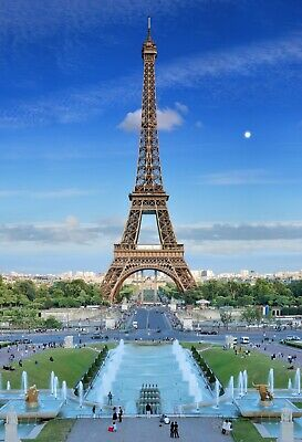 """Jigsaw Puzzle 1000 Pieces Gold Edition """"Eiffel Tower"""" by Wuundentoy"""