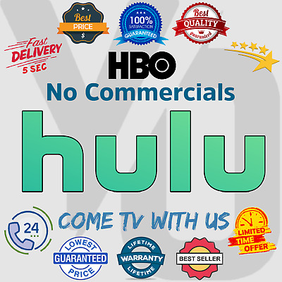 Hulu Premium 📺 No Commercials + HBO 😲 Lifetime Warranty | Instant Delivery 5sc