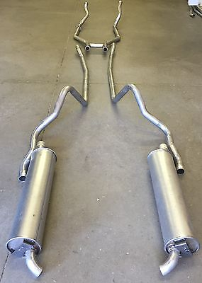 1964 Ford Galaxie Dual Exhaust System With 352 & 390 Engines, Hardtop Models