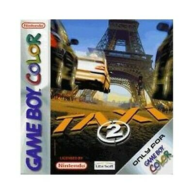 Nintendo GameBoy Color game - Taxi 2 cartridge