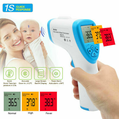 Digital IR Infrared Thermometer LCD Non Contact Forehead Baby / Adult Termometer