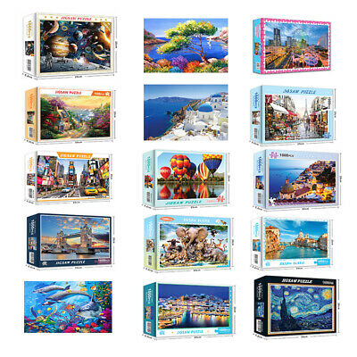 1000 Piece Jigsaw Puzzles Adult Kids Educational Puzzle Toy Gift Brand new