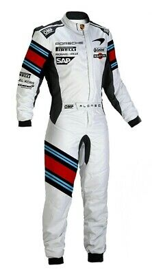 Martini kart racing suit cik fia level 2 suit digital sublimited