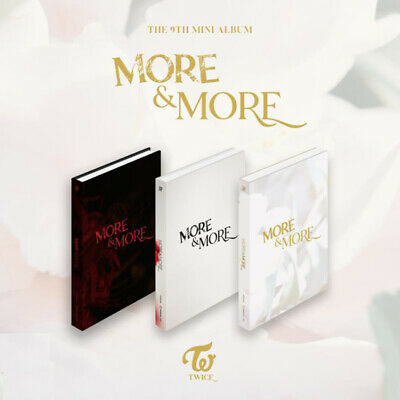 TWICE 9th Mini Album [More & More] CD + PreOrder Benefit + Poster + Etc
