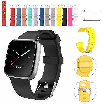 Replacement Strap Silicone Band Bracelet for Fitbit Versa 2/Versa Lite/Versa