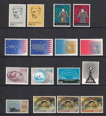 Ireland Eire - 7 sets from the 1976, MNH