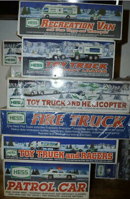 Hess Truck Collection And Others 1989 VERY RARE BUNDLE DEAL