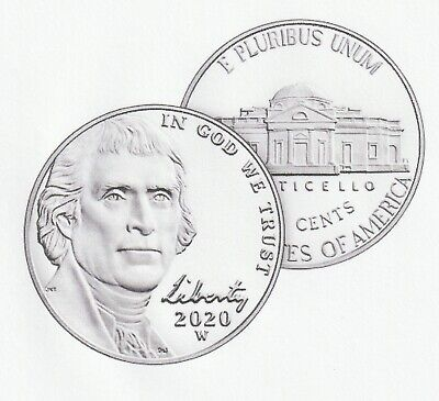 2020 W Jefferson Nickel Reverse Proof #2 of 3