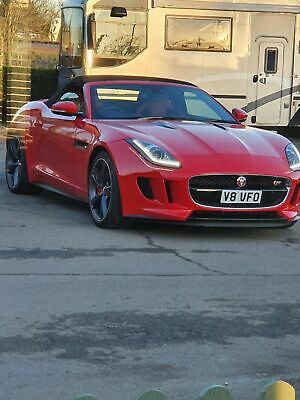 jaguar f type 5.0L V8 S 500 bhp supercharged convertible