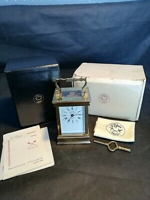 L'epee Carriage Clock With Extras
