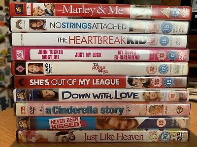 Chick Flick DVD Bundle Of 10 Films