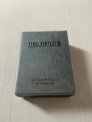 Final Fantasy Ⅶ Sephiroth Silver Pendant necklace F/S(wTrack)
