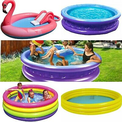 Childrens Large Paddling Garden Pool Kids Fun Family Swimming Outdoor Inflatable