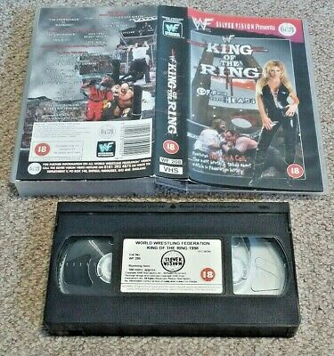 VHS Video PAL Small Box WWF King Of The Ring 1998 Silver Vision Wrestling (C12)