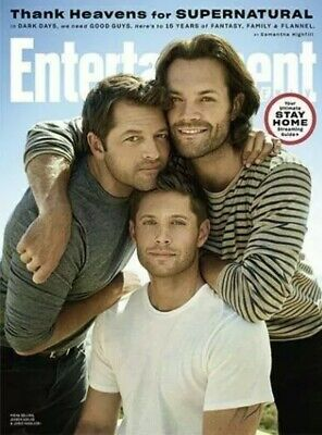Supernatural Entertainment Weekly Magazine Jared Padalecki Jensen Ackles 2020