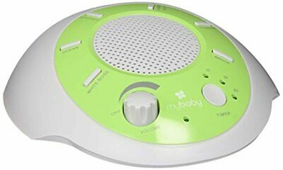 MyBaby Sound Spa Glow Portable Machine, Green/White