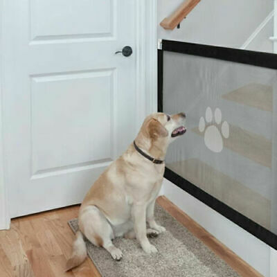 Large Removable Pet Dog Cat Door Gate Safety Guard Baby Stair Window Isolation