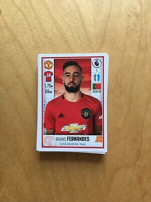 Transfer Update - Panini Premier League 2020 stickers (48 Stickers)