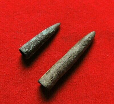 Ancient Bronze Celtic Arrows