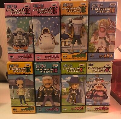 One Piece World Collectable Figure (WCF) - East Blue Lot of 8