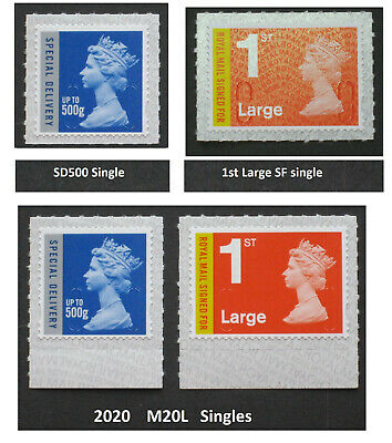 2020 - M20L - 500g Special Delivery , 1st Large SIGNED FOR, RMSF Pair or singles