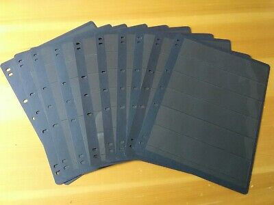 10 x Good Condition Used Hagner Sheets, 6 Row, Double Sided.